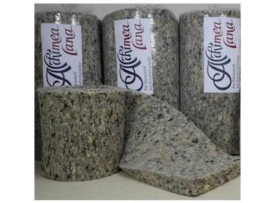 Alchimea lana Naturdämmstoffe aus Schafwolle Rollen Dämmung aus Wolle