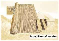 Hiss Reet Gewebe