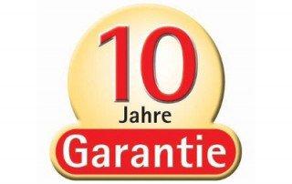 Graf 10 Jahre Garantie