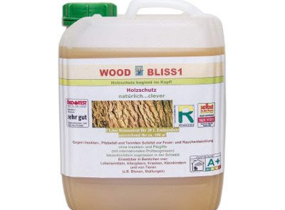 Masid Wood Bliss 1 natürliches und ungiftiges Holzschutzmittel - 5 Liter
