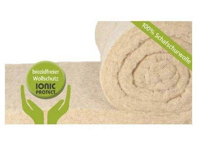 ISOLENA KLEMMFILZ Dämmung mit Wollschutz IONIC PROTECT