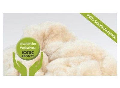 ISOLENA LOSE WOLLE Dämmung mit Wollschutz IONIC PROTECT