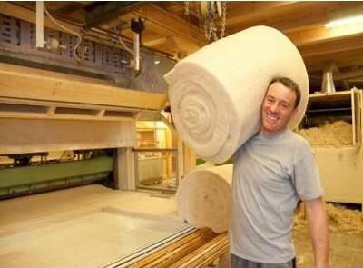 Woolin Dämmbahnen 100% Schafwolle Herstellung