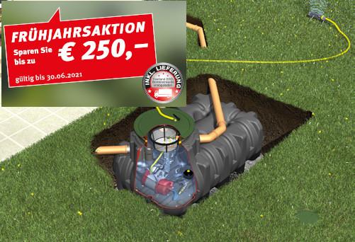 Frühjahrsaktion 2021 Graf Regenwassertank